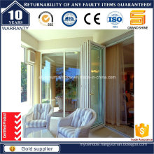 Double Tinted Glazing Bi Folding Sliding Door