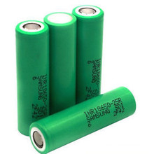 High Drain Batterie au lithium 2500mAh Batterie rechargeable 25A