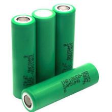 Bateria recarregável de iões de lítio Inr18650-25r 3.7V 2500mAh