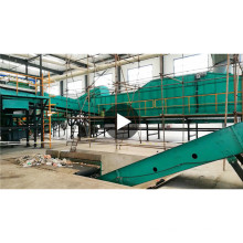 automatic municipal solid waste sorting machine domestic waste household waste sorting line with CE ISO