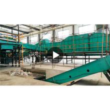 автоматическая твердых бытовых отходов сортировочная машина бытовых отходов бытовых отходов сортировочная линия с CE ИСО