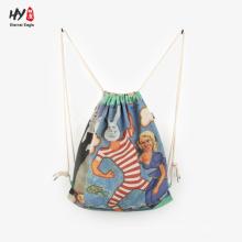 Nice looking retro canvas backpack bag