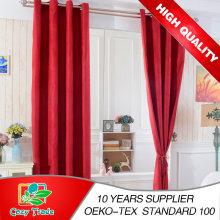 Classe superior Boa qualidade Muitos projetos cortina de Windows, cortina lisa, cortina do Blackout, cortina do jacquard, cortina do voile de Hometextile
