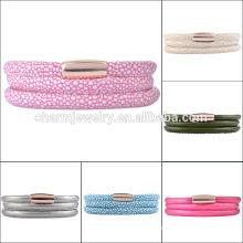 Großhandel Fashion Wrap Armband Leder ELBS15073
