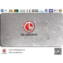 Настенная панель из нержавеющей стали Globond 008