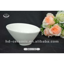 white porcelain ice cream bowl