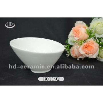white porcelain ice cream bowl