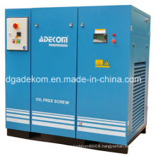 Oil Less Class Zero Rotary Screw Air Compressor (KF185-13ET)