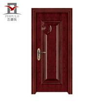 Fábrica que hace la venta caliente Puerta de madera de acero ecológica
