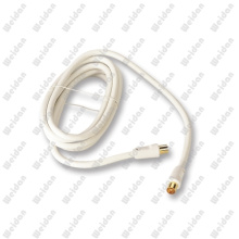 CCTV Hq PAL Coaxial Flylead Rg59 Antenna TV Cable, 3meter with Gold Plated