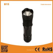 B15 Алюминиевый светодиодный фонарик факел Лучшее качество Открытый фонарик безопасности