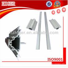 perfil de extrusión de aluminio anodizado a medida