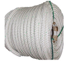 Nylon Rope Double Braid with Green Track Line