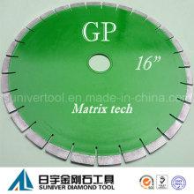 """GP 16 """"* 15 m m alta calidad diamante granito Circular vio la lámina"""