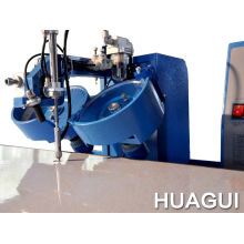 Custom Embroidery Huagui Arm Automatic 2 Heads Hotfix Rhinestone Equipment For Curtain