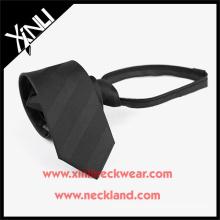 Оптовая полиэстер Жаккардовые шелка мужская с молнией дешевые галстуки