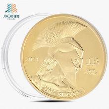 Горячий продавать подгонять золото, сувенир, Comemorative монета в металле
