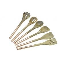 5 pcs wooden kitchen tools set