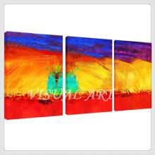 Абстрактные Современные Яркие цвета Холст Живопись Wall Art