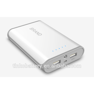 10400mah power bank with more than 500 recycle times
