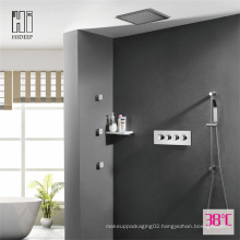 HIDEEP Three Function Thermostatic Brass Shower Faucet