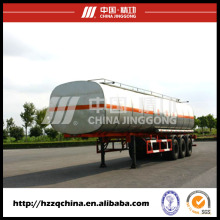 Chinesisches Hersteller-Angebot Carbon Steel Q345 Tank Trailer für leichtes Dieselöl Delivery40800L (HZZ9400GYY)