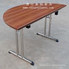 Полукруглый стол со складной ножкой (YC-T02-01)
