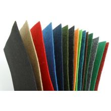 2016 100% Poliéster Plain Velour Carpet Exposição