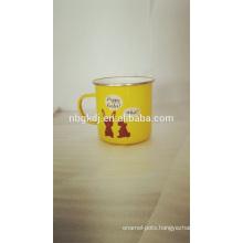 enamel coating mugs & new product hot selling drinking enamelware