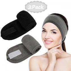 LADES 2 Pcs Women Spa Headband
