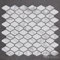 C&K Mosaic Hexagon Glass Mosaic Tile Backsplash Cocina