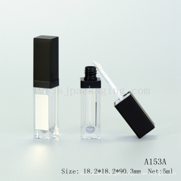 empty led lip gloss tube packaging with mirror light up lip gloss