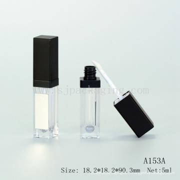 Пустая лампа с блеском для губ, упаковка с зеркалом, блеск для губ