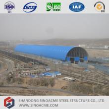 Estacionamento de trem de estrutura de quadro aço espaço