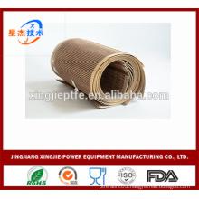 PTFE Open Mesh tunnel oven conveyor belt fabric