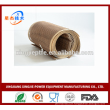 PTFE Open Mesh malha túnel cinto transportador tecido