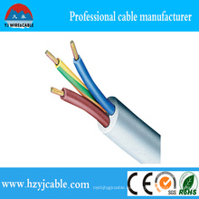 Alambre y cable de cobre flexibles de la envoltura del PVC de la promoción de la fábrica