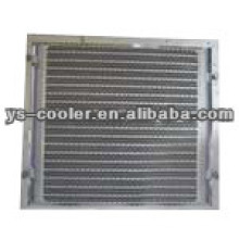 plate-fin hydralic oil cooler for engineering machines