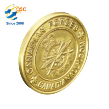 China Suppliers Low MOQ Custom 3D Challenge Gold Silver Antique Coin