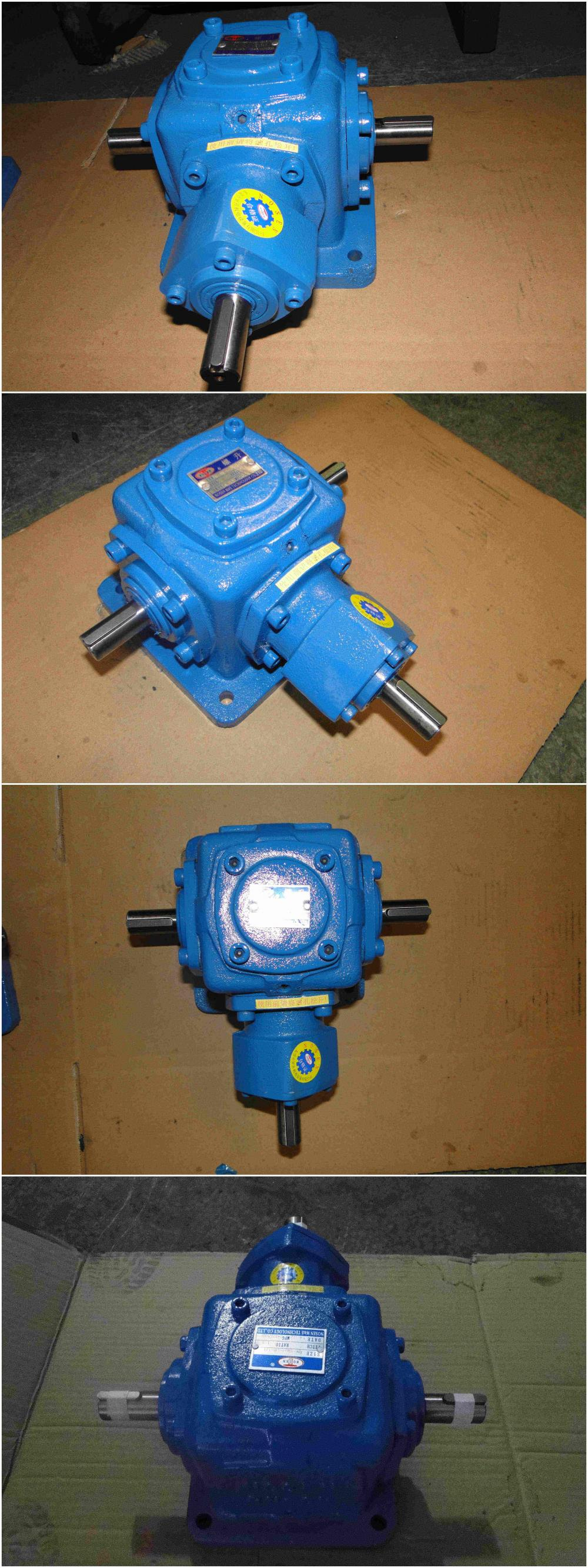 High Speed Changing Directions International Mounted Gearbox for Heavy Load