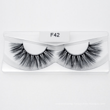 Wholesale Top Quality 3D Faux Mink Eyelash Strip False Eyelashes