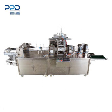 Good Quality Fully Auto 4 Side Closetool Disinfecting Wipe Packaging Machine