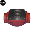 OEM Ductile Iron Valve Body Sand Casting with Machining, Painting
