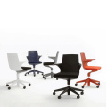 Kartell Polypropylene Swivel Spoon Office Chair