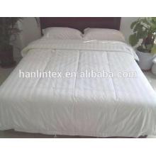100% algodão 300TC 3cm stripe hotel cama & roupa de cama para o hotel