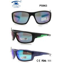 Plastic Sport Sunglasses for Woman Man (PS963)