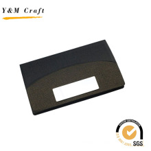 Porte-nom spécial en cuir de grain promotionnel pour les entreprises