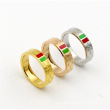 Wholesale Jewelry Gold Silver Stainless Steel Rings for Women Men