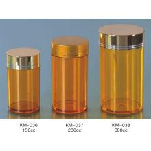Flacon en plastique pour capsules