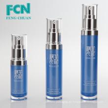 Diseño de la botella de la loción plástica con la bomba cosmética profesional que empaqueta cuidado de la piel